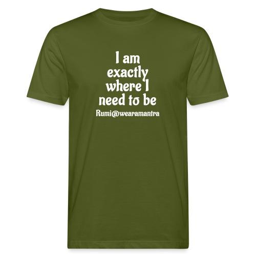 Rumi 1 white - T-shirt ecologica da uomo