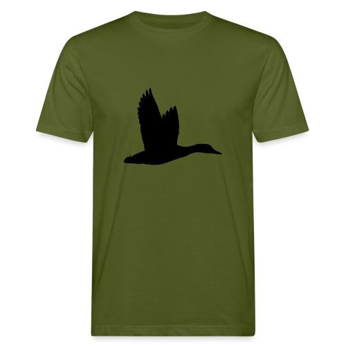 T-shirt canard personnalisé avec votre texte - T-shirt bio Homme