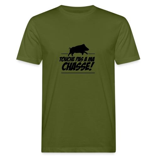 Touche pas a ma chasse ! Motif sanglier - T-shirt bio Homme