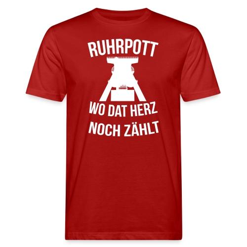 Ruhrpott - Wo dat Herz noch zählt - Männer Bio-T-Shirt