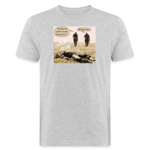 L'humour m'a tuer - T-shirt bio Homme