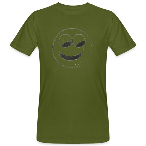 Smiley - Männer Bio-T-Shirt