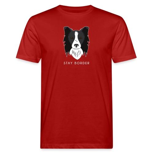 Border Collie - T-shirt ecologica da uomo