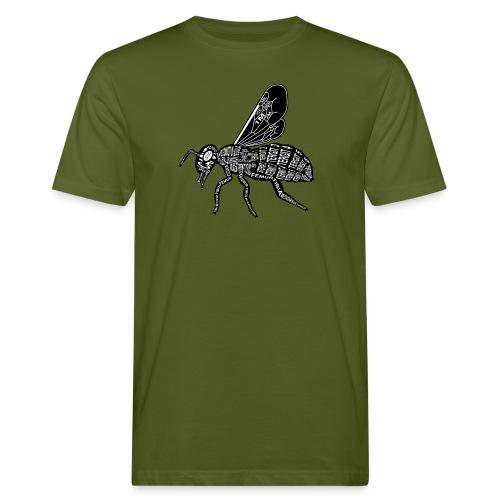 Skelett Biene - Mannen Bio-T-shirt