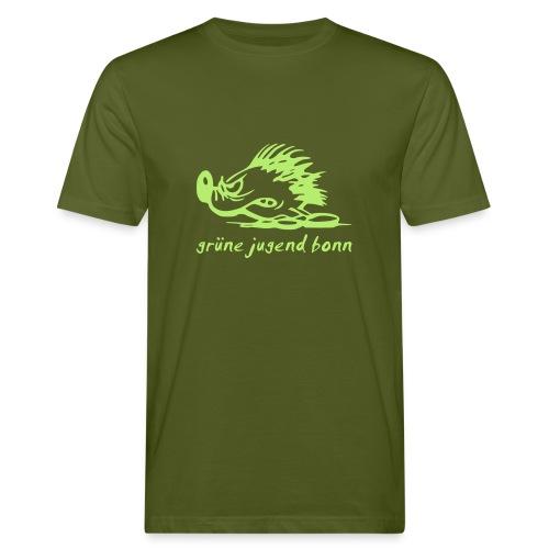 Logo GJB Smudger - Männer Bio-T-Shirt