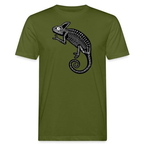 Chameleon Skeleton - Mannen Bio-T-shirt
