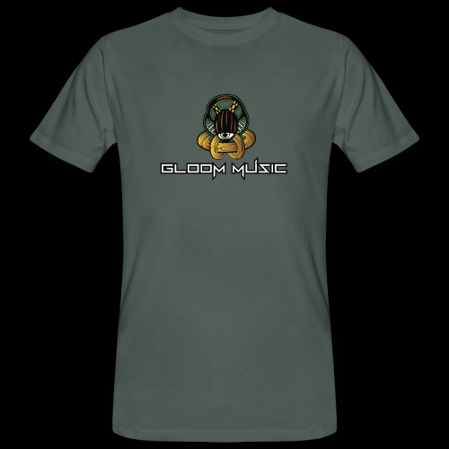 gloOm Music Front And Tree Of Life Back - Men's Organic T-Shirt