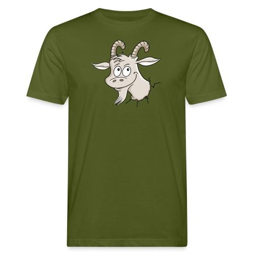 Steinbock - Männer Bio-T-Shirt