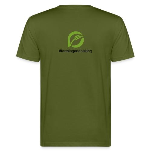 farmingandbaking_logogruen - Männer Bio-T-Shirt