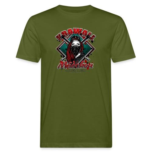 Krawallmädchen - Männer Bio-T-Shirt