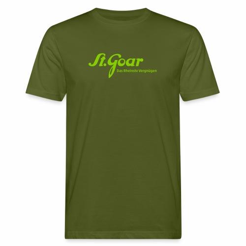 St. Goar – Das Rheinste Vergnügen - Männer Bio-T-Shirt