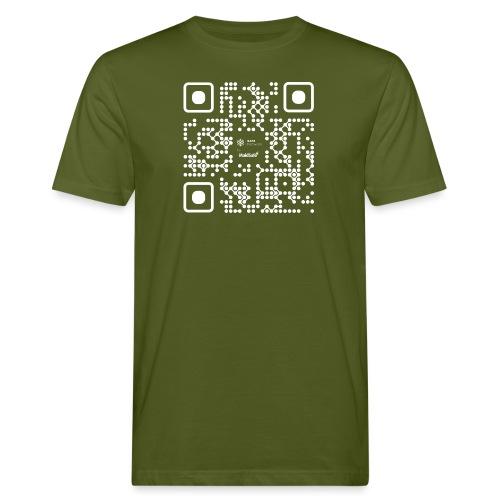 QR - Maidsafe.net White - Men's Organic T-Shirt