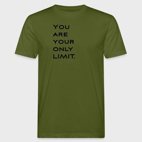 Limit Black - Männer Bio-T-Shirt