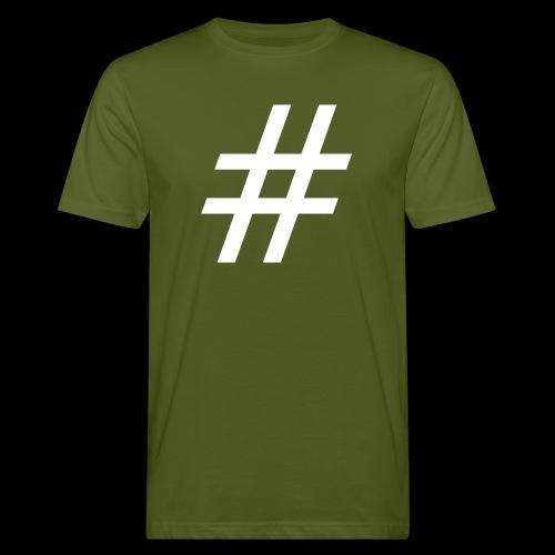 Hashtag Team - Männer Bio-T-Shirt