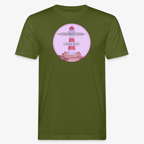 Histaminintoleranz – Land in Sicht - Männer Bio-T-Shirt