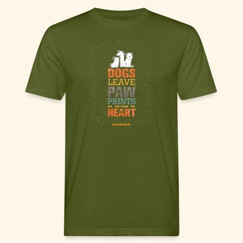 PAWPRINTONHEART - T-shirt ecologica da uomo