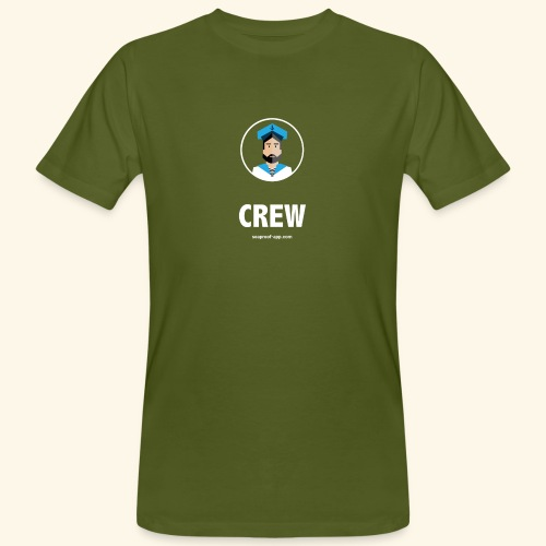 SeaProof Crew - Männer Bio-T-Shirt