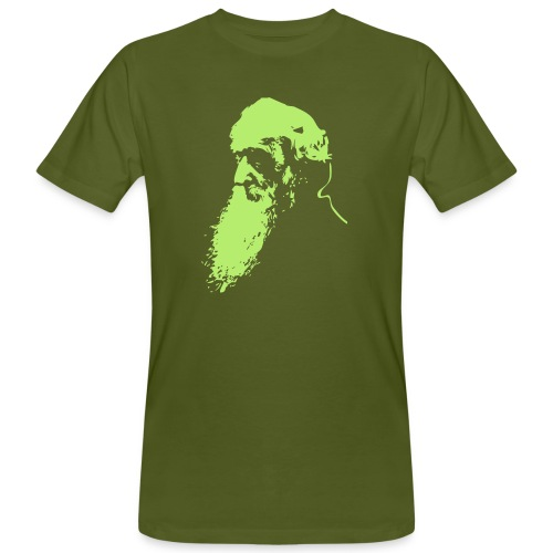 Motiv William Booth Vector Head - Männer Bio-T-Shirt