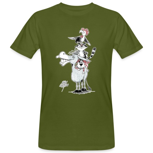 Bremer Stadtmusikanten - Männer Bio-T-Shirt