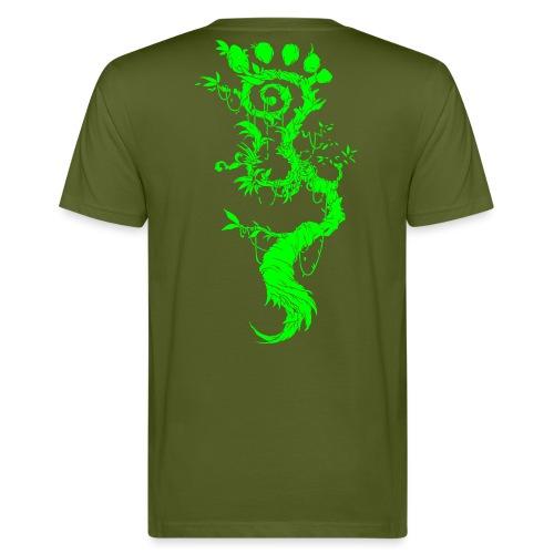 FootMoss green - Men's Organic T-Shirt