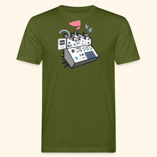 Noise Factory - Miesten luonnonmukainen t-paita