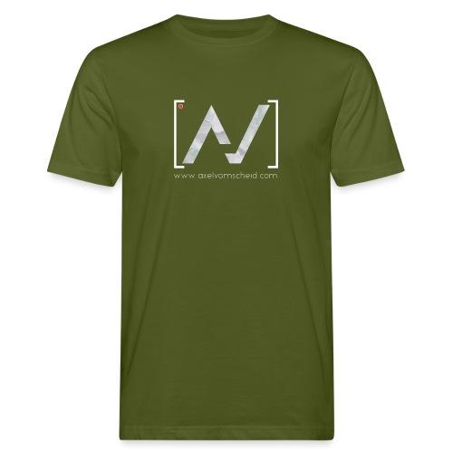 logoalpha blanc - T-shirt bio Homme