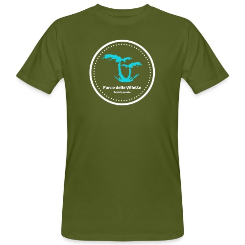 LOGO PARCO DELLE VILLETTE - T-shirt ecologica da uomo