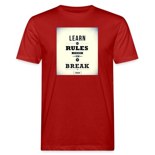 RULES - Mannen Bio-T-shirt