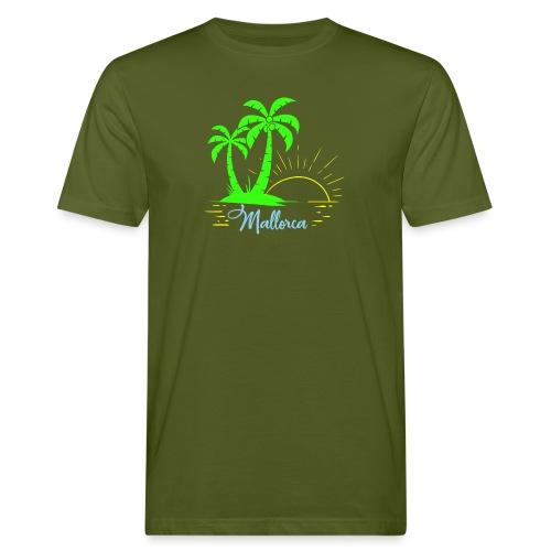 Die goldenen Sonnenuntergänge von Mallorca - Männer Bio-T-Shirt