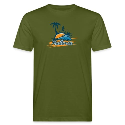 Joggen auf Mallorca - Sport - sportlich - Jogging - Männer Bio-T-Shirt