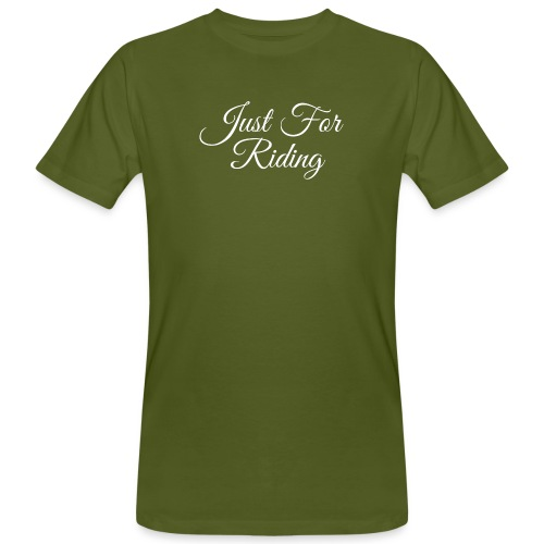 Just for riding - T-shirt bio Homme