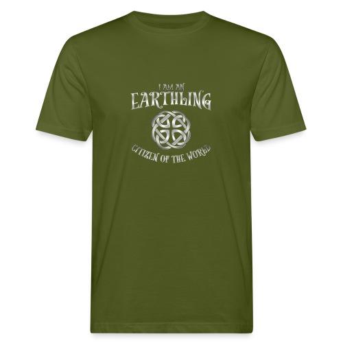 EARTHLING SILVER design - Ekologisk T-shirt herr