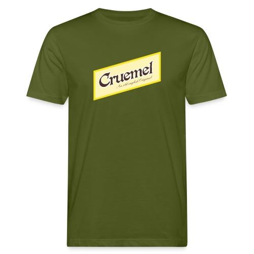 cruemel quer - Männer Bio-T-Shirt