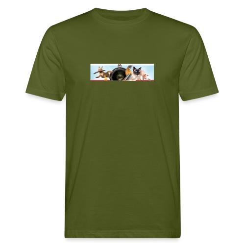 Animaux logo - Mannen Bio-T-shirt