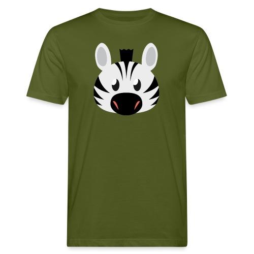 Zebra Zoe - Men's Organic T-Shirt