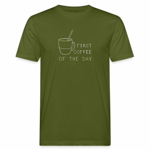 First coffee - T-shirt bio Homme