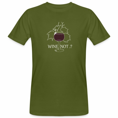 wine - T-shirt bio Homme