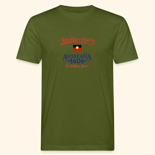 Adventure Spirit Australia - Männer Bio-T-Shirt