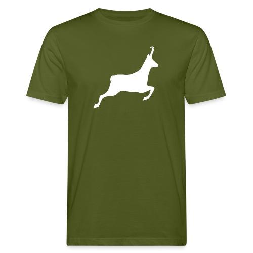 T-shirt Chasse personnalisable - motif chamois - T-shirt bio Homme