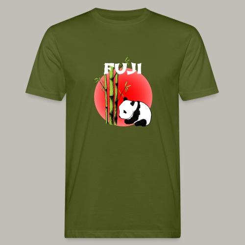 Fuji panda - T-shirt bio Homme