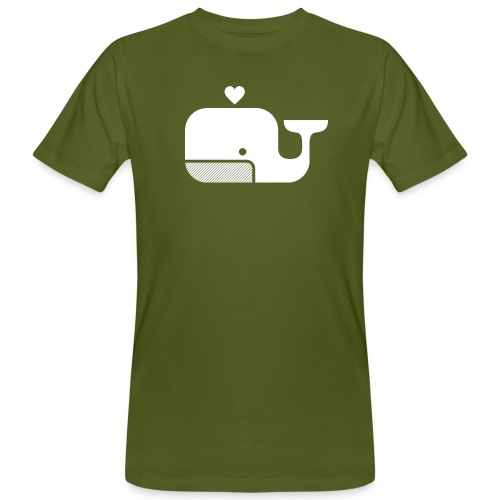 Ben der Blauwal! - Männer Bio-T-Shirt