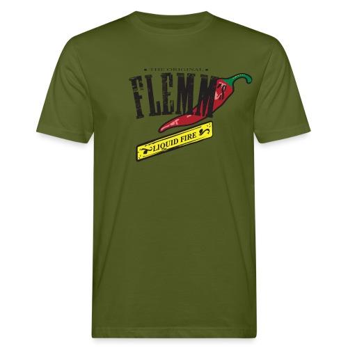 flemmlogoback - Men's Organic T-Shirt