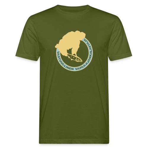 vastuullinen isompi - Miesten luonnonmukainen t-paita