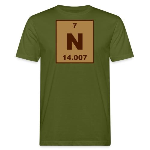 Nitrogen (N) (element 7) - Men's Organic T-Shirt
