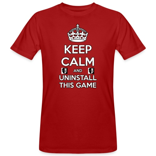Keep Calm - T-shirt ecologica da uomo
