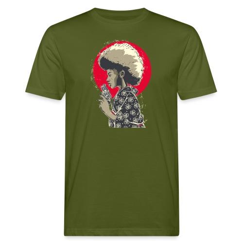 Afro Gun - T-shirt ecologica da uomo