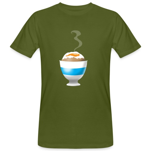 Boiled Egg - Men's Organic T-Shirt
