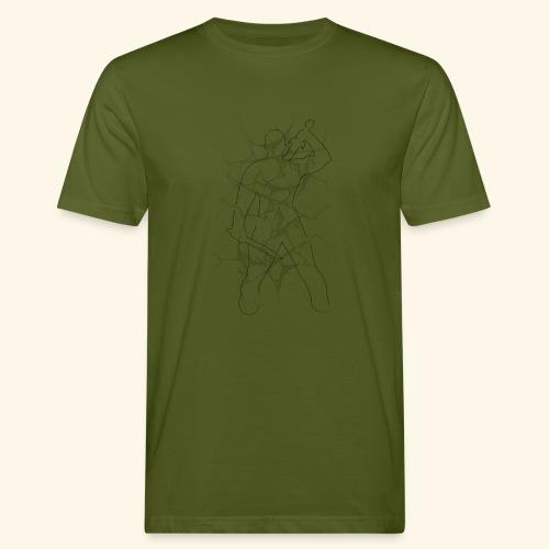 Warrior - Økologisk T-skjorte for menn