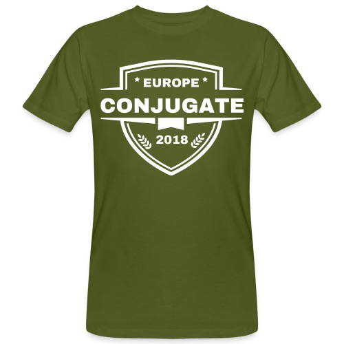 Conjugate white - Ekologisk T-shirt herr