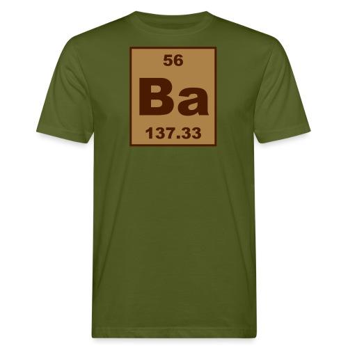 Barium (Ba) (element 56) - Men's Organic T-Shirt